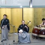 Japanese traditional cultural music and performance show